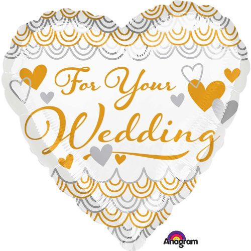 "18"" For your Wedding Heart"